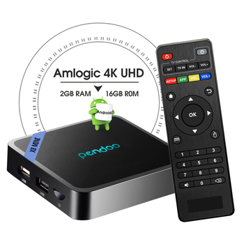 Pendoo X8 Mini S905w 1 gb 8 gb Wifi Android 2 gb Iptv Telecomando 8.1 Internet Tv Set Top box