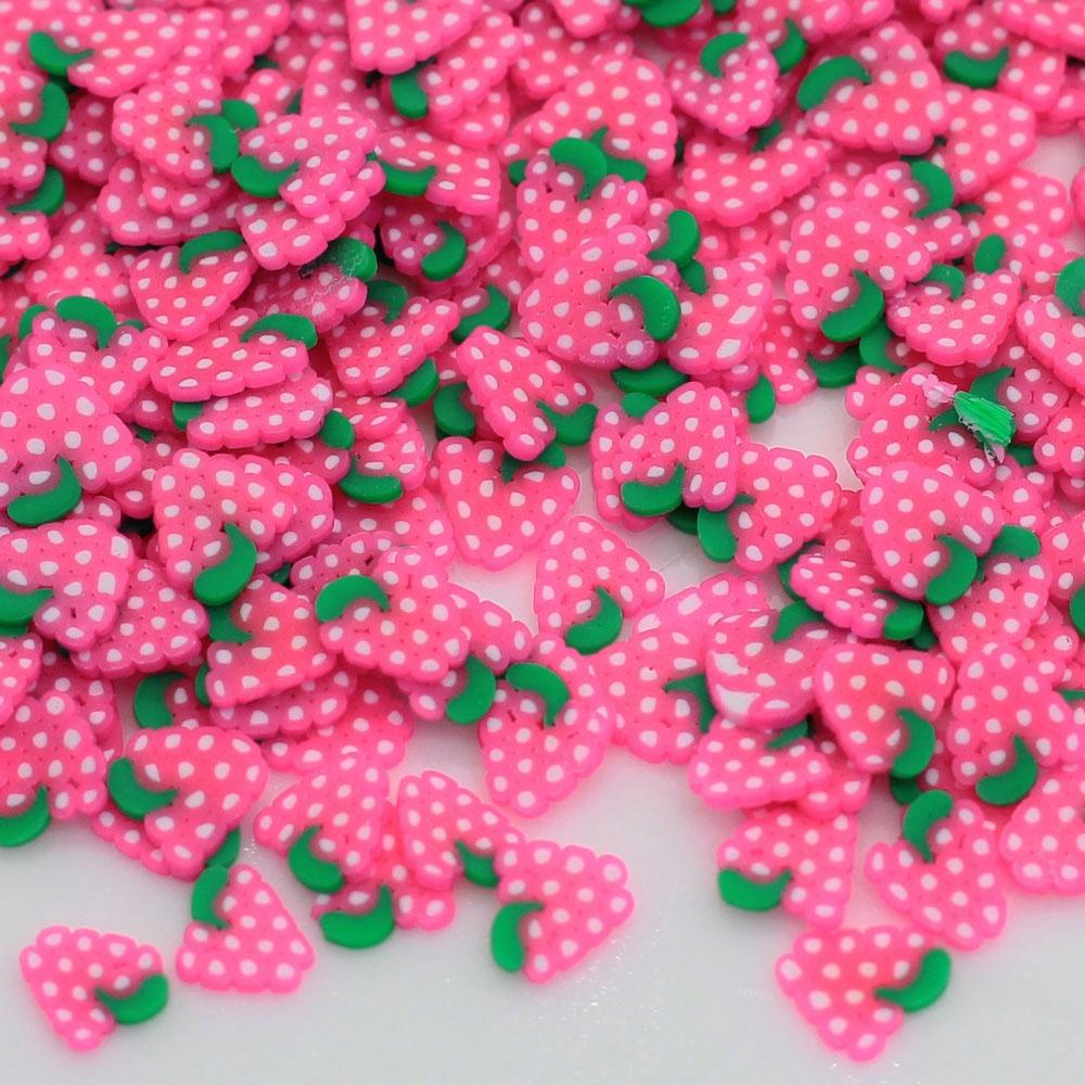 3D ногтей фруктовые Ломтики Полимерная глина DIY виноградный ломтик для украшения ногтей наклейки