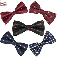 Elegant Adjustable Pre-tied Bow Ties Men Boys