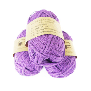 Best quality 1.5NM/1 100% cotton slub yarn big belly sweater carpet hand knitting yarn