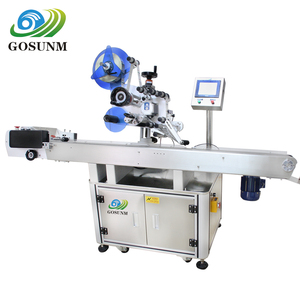 Automatic Plastic Bag Top Surface Labeling Machine with Paging