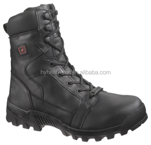 winter mens leather boots / battery heated working boot