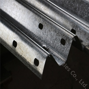 High Quality Double Wave Guardrail Plate Flex Beam Traffic Fence Road Construction Project Guard Rail System