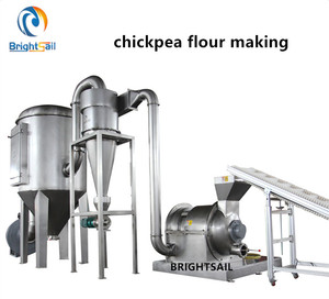 food spice powder grinding mill chickpeas flour grinding mill