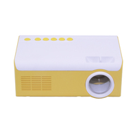 HUIMI Cheap 600 lumens Outdoor Home LED LCD Micro Mini Pocket Handheld Projector For Mobile Phone