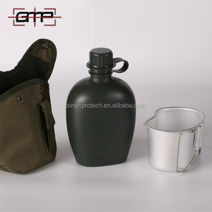 Zhongli Army military Plastic US uniform water bottles canteen with bag
