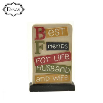 'best friend for life' plaque give a friend a birthday present with a grateful souvenir