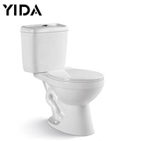 Chinese Chaozhou hot sale siphonic bathroom economy wc floor mounted s trap inodoro vacuum sitting two piece toilet seat ceramic