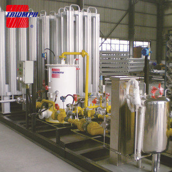 LNG Gasification&heating&pressure regulating&orodizing skid