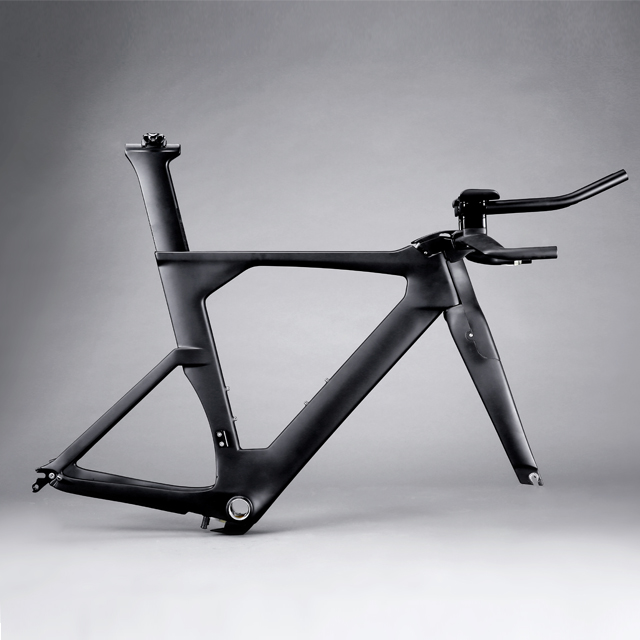 hong fu Avenger tt bike <strong>frame</strong> China T800 cheap <strong>road</strong> <strong>carbon</strong> fiber time trial bicycle <strong>frames</strong> fm109 with TRP brake