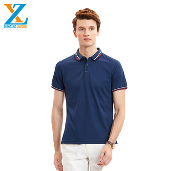 Reseller Europe Size Foam Printing Combed Cotton Custom Polo Shirts No Minimum