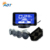 4 Parking Sensors LED Monitor Car Auto Backup Reverse Radar System Alarm Kit