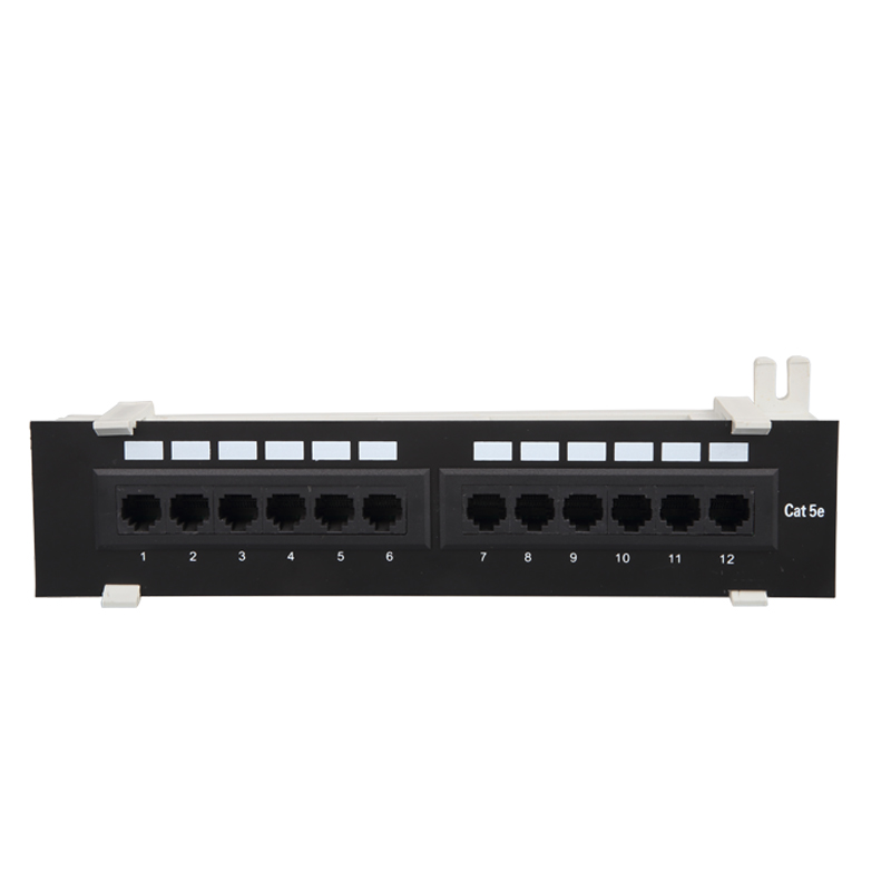 3m standard 12 port utp cat5e patch panel or 8 port patch panel