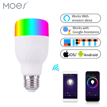 wifi tuya app RGB Wifi light smart 4000K soft light smart bulb with google home