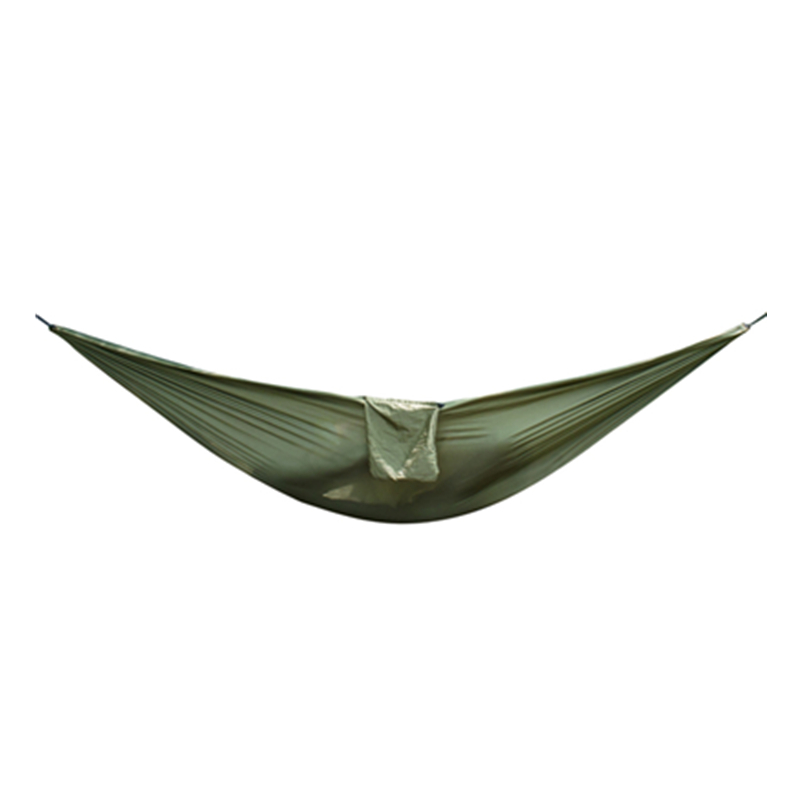 Portable Outdoor Double Mosquito Net Hammock Nylon Hanging Bed Swing Camping Hammock Bed