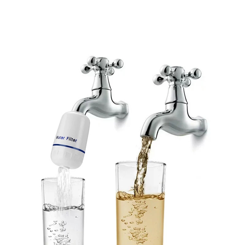 Family household Domestic Ceramic mini water purifier Faucet water filter/tap water