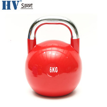 Power Training Fitness Variopinta Del Vinile Neoprene Kettlebell Concorrenza