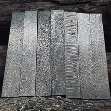 Roestvrij damascus staal bar blanco bladen voor <span class=keywords><strong>mes</strong></span>