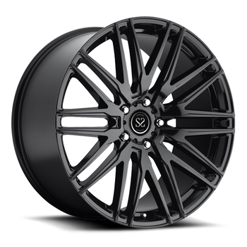 "18""~22"" polishing colored Deep Dish car rims spoke brushed forged wheel from china"
