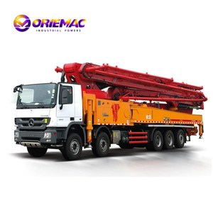 SANY 56meters Truck Mounted Concrete mobile Pump in UAE with Top quality