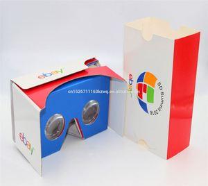 Custom Logo Full Color Printing virtual reality glasses, cardboard vr glasses