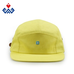 8a039a6542122 high quality custom made five panel caps cheap wholesale 5 panel hats with  leather strap