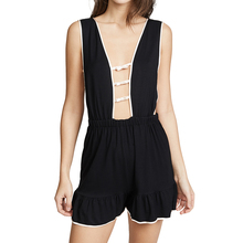 Hot Sexy Hohl Net Modale Baumwolle Nighty One Piece Romper Frauen <span class=keywords><strong>Nachthemden</strong></span>