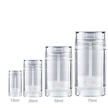 15ml 30ml 50ml 75ml Deodorant Container Twist-up Reusable Recycling DIY Leere Deodorant Rohre, bottom-füllen Ferse Balsam, Sonnencreme