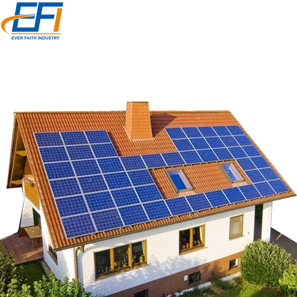 10kw Off Grid Tied Household Photovoltaic Power Eenergy Solar Panel System