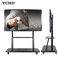 "YCHD 55""touch screen laptop LCD display interactive flat panel with ops"