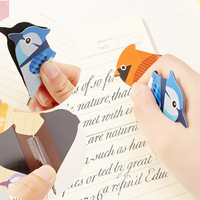 Promotional Souvenir Birds&Pen New Gifts of Paper Bookmark Page Student Stationery School Office Supply