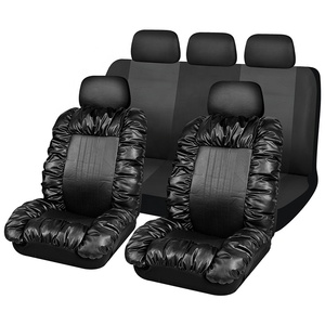 9PCS Combo PVC Washable Waterproof Car Leather Seat Cover