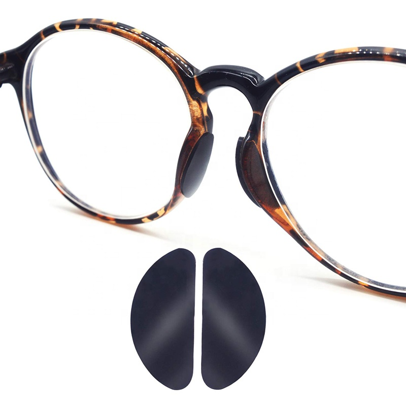Soft Clear Anti-slip Silicone nose pad for eyeglasses
