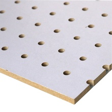 4 millimetri 4.5 millimetri 6 millimetri bianco melamina <span class=keywords><strong>mdf</strong></span> pegboard