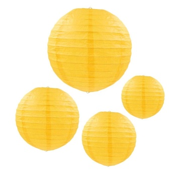 Wedding Room Decorations Yellow Chinese Paper Lantern