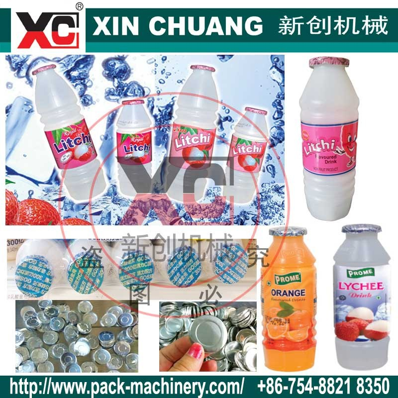 lychee bottle 180ml filling sealing machine