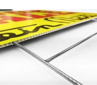 Durable PP Corrugated plastic sheet yard signs