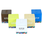 China factory sale square colorful tin box package gift tin can square gift tin can