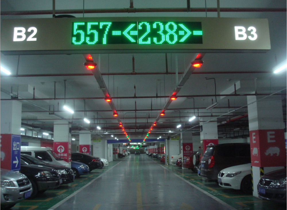 Ultrasonic Detection Parking Assist System To Find Empty