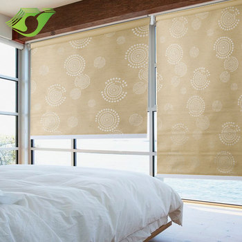 New indoor blackout motorized day night window roller blind for hotel