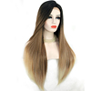 Top quality heat resistant synthetic lace front wigs synthetic blend wigs