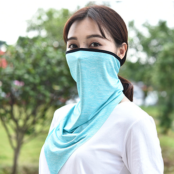 triangle bike mask face half face bike riding mask for man and women