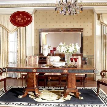 Tavoli Da Pranzo In Stile.Sala Da Pranzo In Stile Classico 0010 Tavolo Da Pranzo Lungo Buy