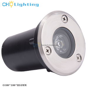 Paving underground light CE RoHS IP67 stainless steel outdoor 1w mini led inground light