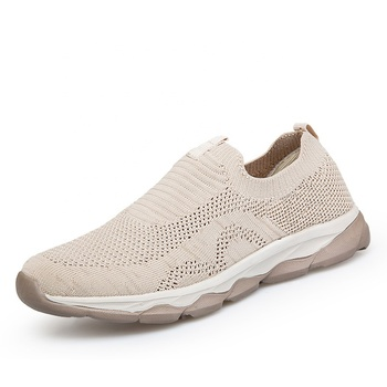 Xiamen footwear supplier cheap custom brand casual walking shoes for men and women