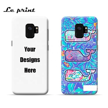 For samsung s9 s9plus phone case custom print your own design for samsung s9 3d sublimation mobile phone case