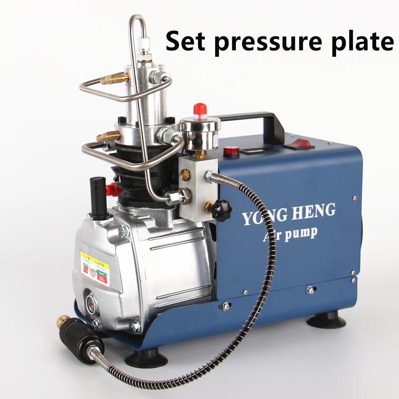 Yong heng PCP air compressor Rifle Set Pressure Version 300bar 4500psi