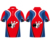 100% polyester Custom Full sublimated Zipper bowling shirts for men