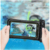 Universal Mobile Waterproof Case Underwater Dry Bag , Transparent PVC Floating Cell Phone Pouch
