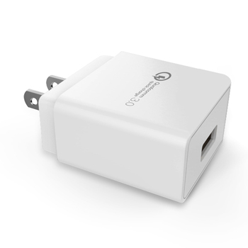 New Creative 18W qualcomm 3.0 portable travel power fast mobile phone usb wall charger with US plug